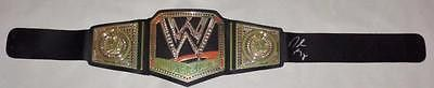 Daniel Bryan WWE Championship Autographed Belt COA Memorabilia Lane & Promotions