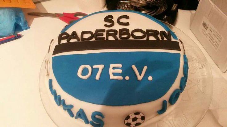 SC Paderborn Torte