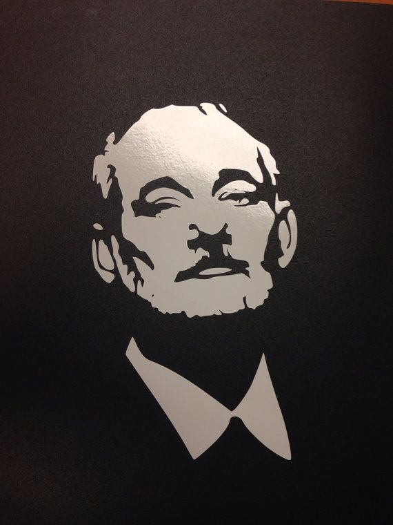 Bill Murray - BFM - Chive Vinyl Die-Cut Decal...DIY Chive shirt?