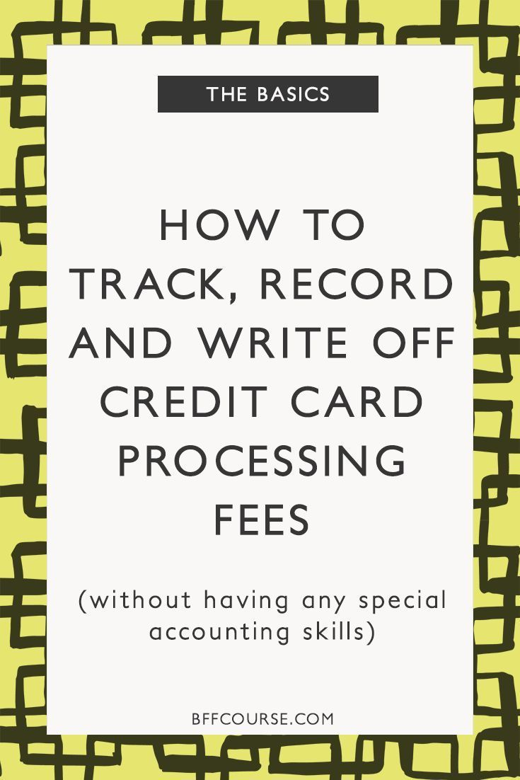25 unique small business credit cards ideas on pinterest square how to track record write off credit card processing fees magicingreecefo Gallery