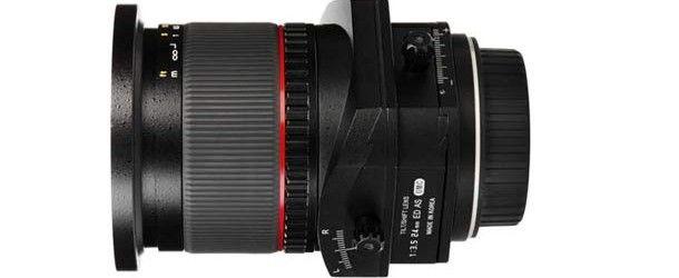 Samyang 24mm Tilt-Shift-Objektiv ab Mai für 978 EURO erhältlich