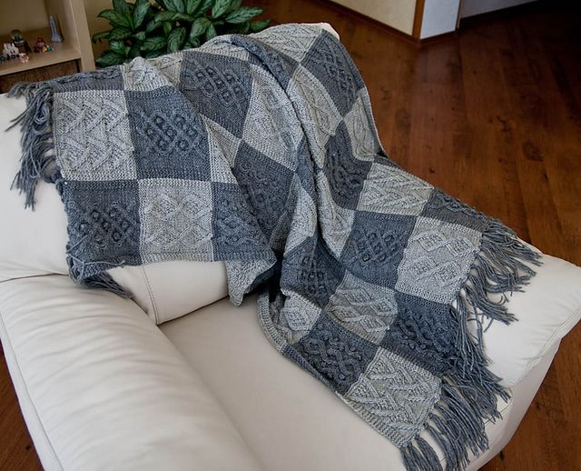 75 best Knitted Blanket images on Pinterest | Ponchos, Embroidery ...