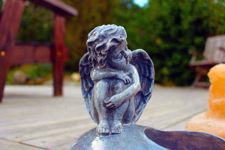 Ängel på hjärta - Uffes Gjutformar