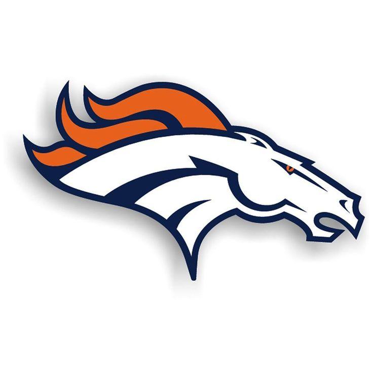 Denver Broncos NFL 12 Inch Car Magnet