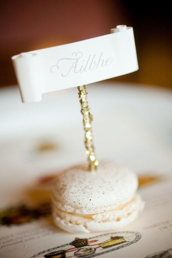 wedding ideas 20 edible reception name cards