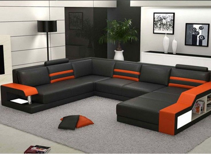 Tessie - U - Leather Sofa Lounge Set | शो in 2019 | Leather sofa ...