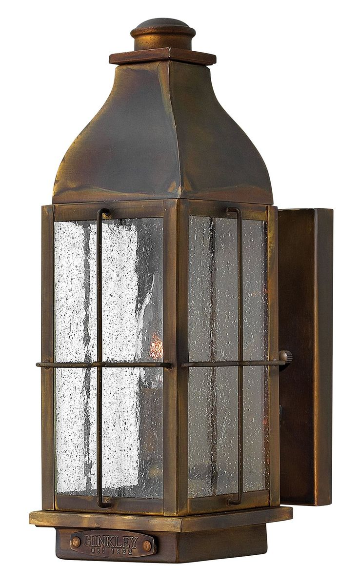 Hinkley Lighting 2040SN Bingham Transitional Outdoor Wall Sconce HK-2040SN