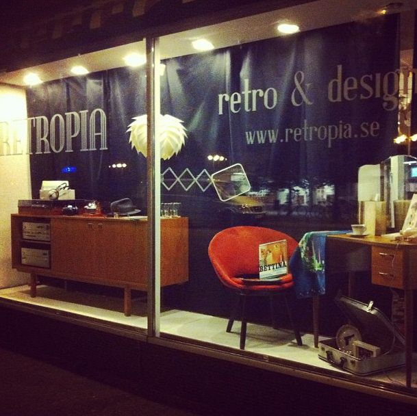 Retropia is the place to be for retro, vintage and design in Karlstad, Sweden