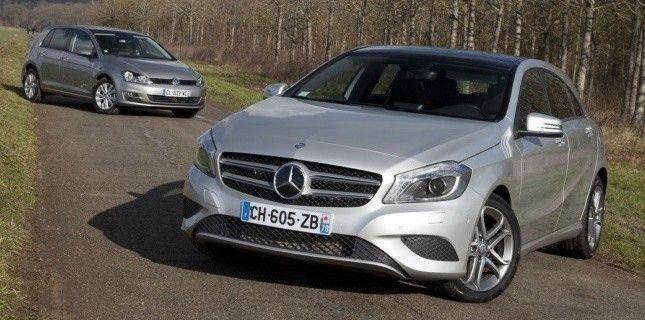 #Volkswagen #Golf 7 1.6 TDI 105 ch et #Mercedes-Benz A180 CDI