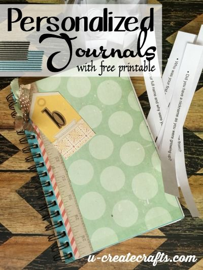 DIY Personalized Journals