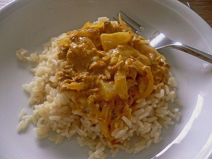 Exotische Thunfisch - Soße zu Reis, ein schönes Rezept aus der Kategorie Saucen. Bewertungen: 67. Durchschnitt: Ø 4,5.