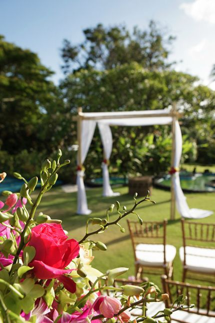 kauai wedding at the plantations gardens restaurant hawaii kauai wedding venue