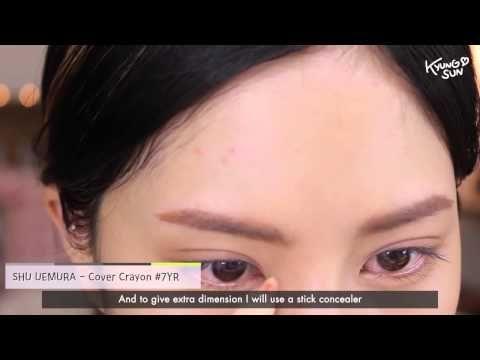 Makeup Tutorial Korean:요청 Eng Sub 개인의 취향 존중 메이크업! #그린 렌즈 편 - YouTube