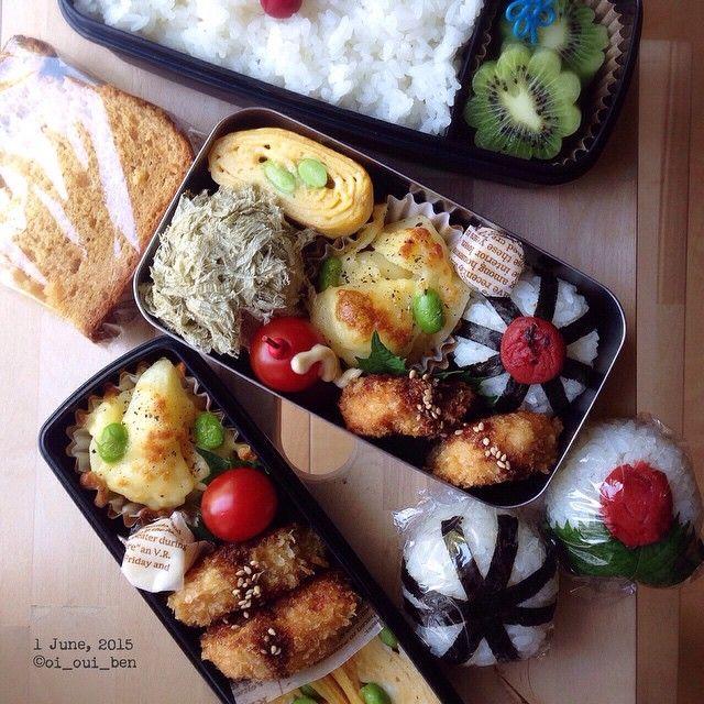 * * 2015/6/1 |おはよう☀️ * * 本日より6月〜✳︎ 週末だけ忙しくなる2週間が始まる。 * カステラと2つは 学校に着いてから食べる娘の朝ご飯♩ * * #cooking#food#foodie#igphoto#instafood#yum#yummy#yummypic#料理#料理写真#onmytable#obento#bento#お弁当#弁当#lunch#lunchbox#ランチ#ランチボックス#暮らし#coi_ben#
