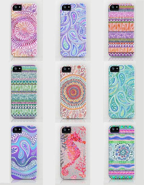 Awesome phone cases and they're drawn by hand