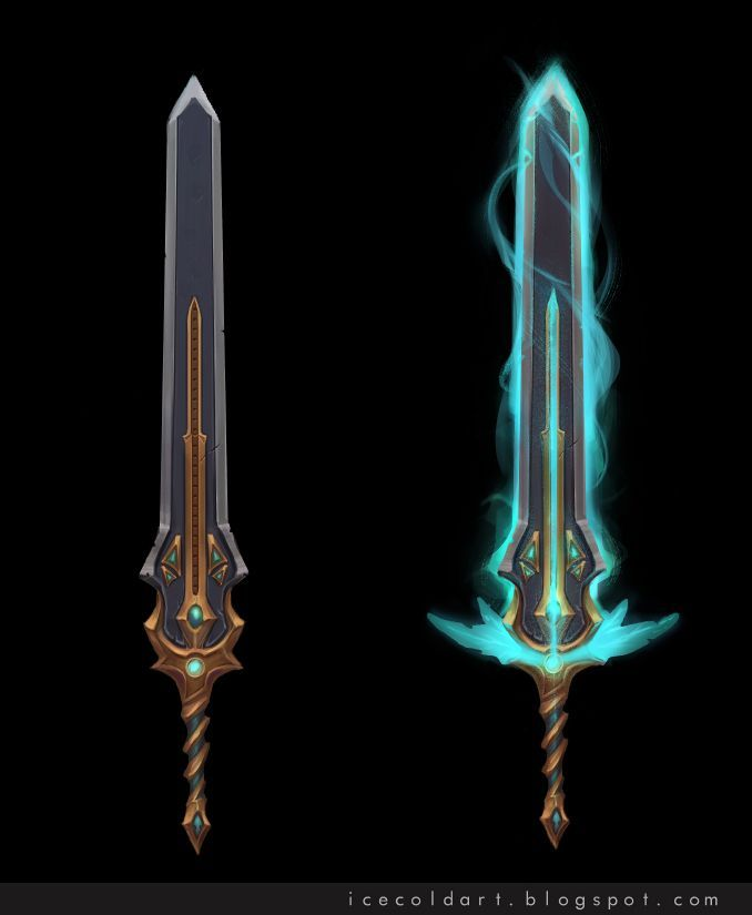 Yithiel Sword by Icecoldart on deviantART