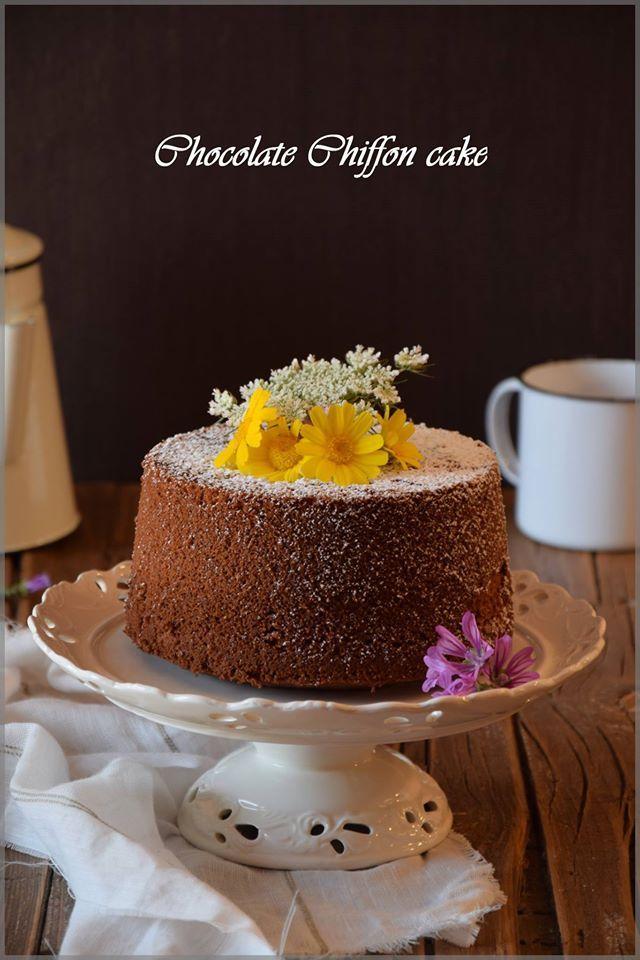 #chiffoncake #cioccolato #chocolate #chocolat #ilove #festa #italia #puglia #fiori #colazione #party #foodphotography