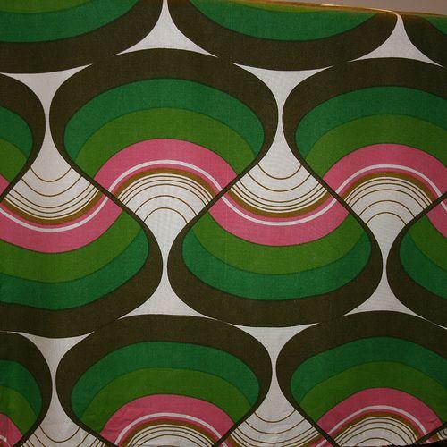 1970's Art Fabric