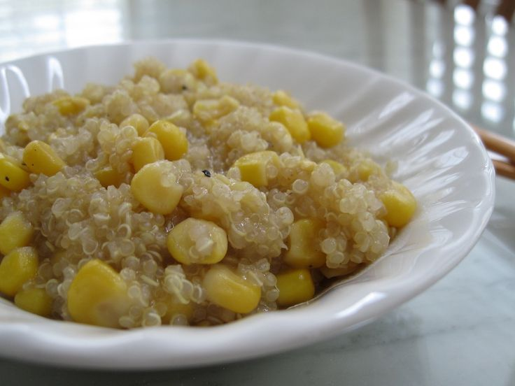 Roasted corn, Quinoa and Healthy lunches on Pinterest