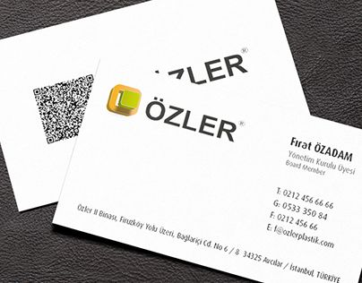 """Check out new work on my @Behance portfolio: """"ÖZLER PLASTİK LOGO and CORPORATE MATERIALS"""" http://on.be.net/1BMtSGw"""