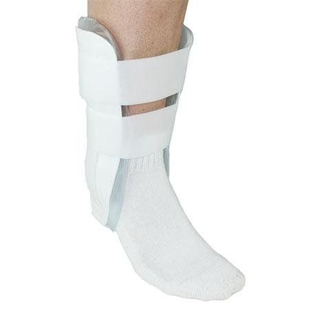 Orthopedic Gel Cold Therapy Air Stirrup Ankle Sprain and Instability Support Brace - One Size ** Trust me, this is great! Click the image. : Sports First Aid