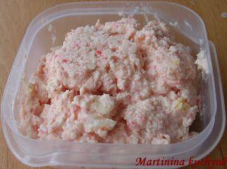 Martinina kuchyně: Krabí pomazánka