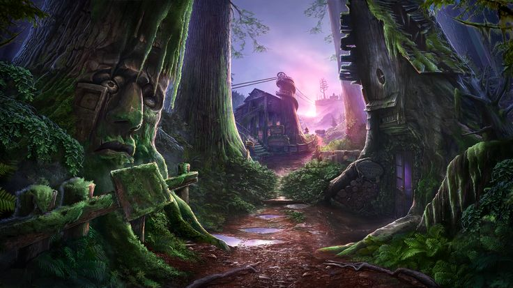 Enigmatis: The Mists of Ravenwood - Dark Treehouse www.artifexmundi.com/page/enigmatis2 #redwood #park #entrance #game #adventure https://www.facebook.com/ArtifexMundi.Enigmatis
