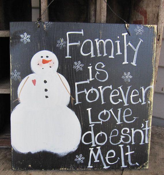 Charming Primitive Snowman, Snowman Sign, Christmas Sign, Primitive Christmas,  Rustic Snowman, Rustic Christmas, Family Sign, Snowman Decoration
