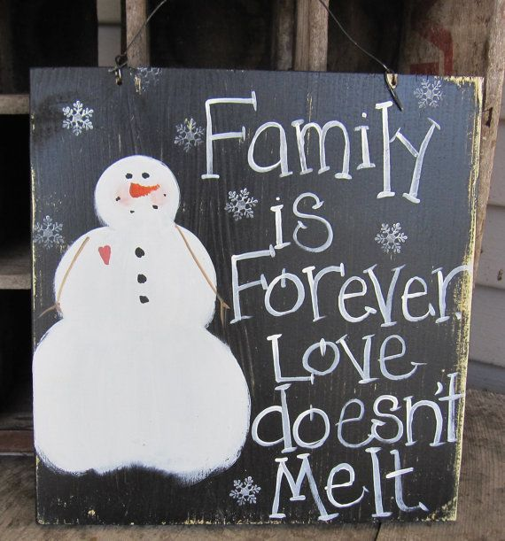 Primitive Snowman Snowman Sign Christmas Sign by SweetLibertyBarn