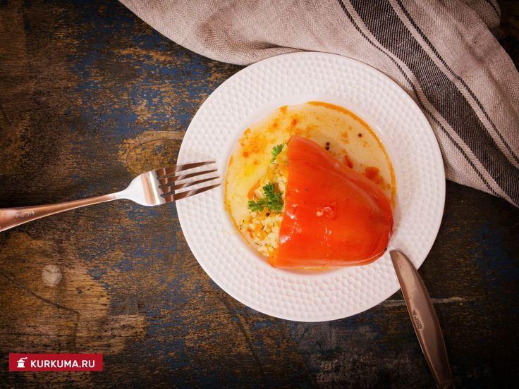Фаршированные перцы по-вегетариански — Вегетарианские рецепты