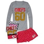Victoria'S Secret Kansas City Chiefs Tee & Boxer Gift Set