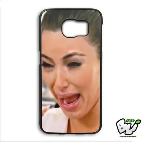 Kim Kardashian Crying Face Samsung Galaxy S6 Edge Case