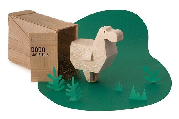 Il mini-zoo degli animali estinti