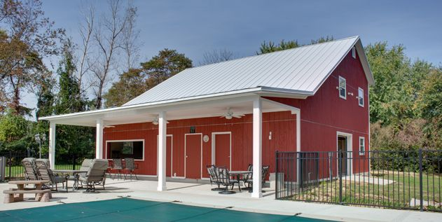 Barn Pool House Barn Pool Pool House Plans House With