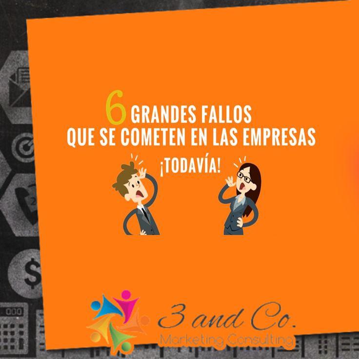 Grandes fallos que se cometen en las empresas #empresa #marketing #elsalvador