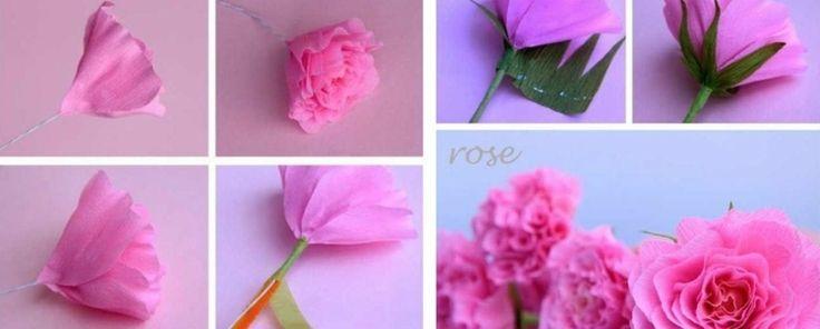 Blumen zum Muttertag - So basteln Sie hübsche Rosen