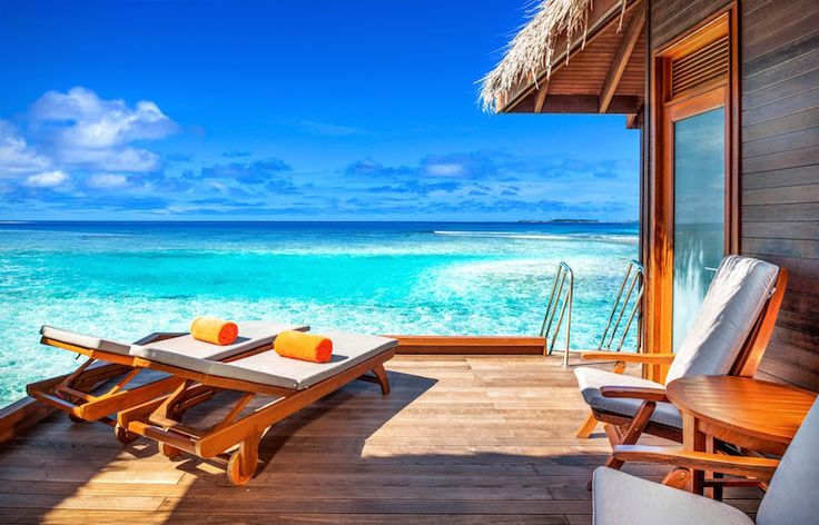 Sheraton Full Moon Resort - private balcony