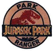 Jurassic Park Ranger Patch