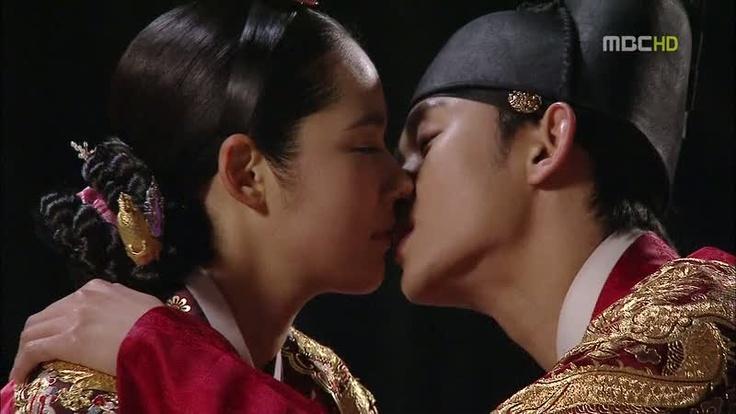the final kiss!