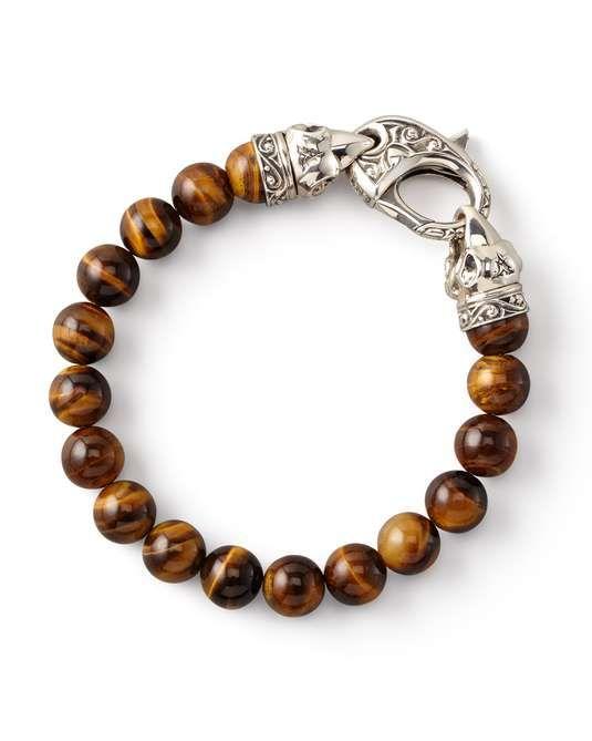 Love the Stephen Webster Tiger's Eye Bead Bracelet, 10mm on Wantering.