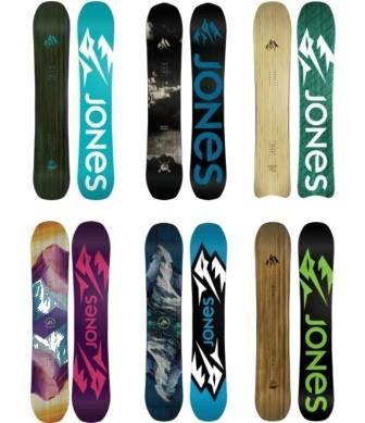 2017 Jones Snowboards Overview