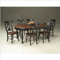 HD wallpapers 6pc dining table parson chairs espresso finish set