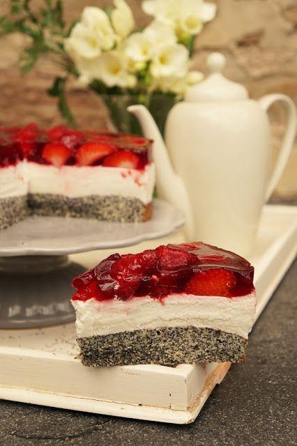Erdbeer quark torte glutenfrei