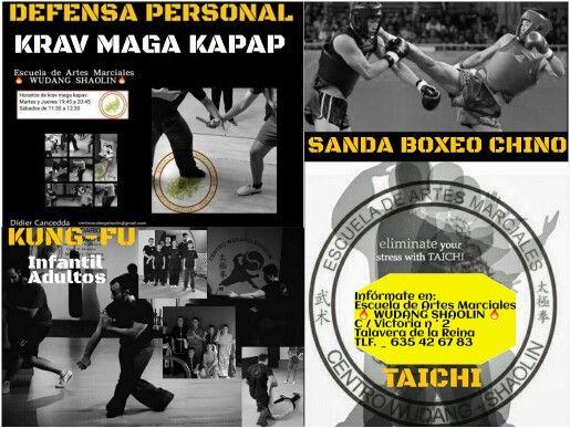Infórmate en:   Escuela de Artes Marciales   WUDANG SHAOLIN   C / Victoria n ° 2 Talavera de la Reina  #kungfu #taichi #taichichuan #chikung #defensapersonal #kravmaga #kapap
