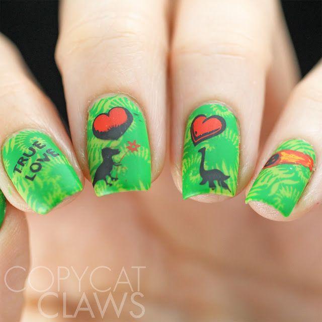 Mejores 261 imágenes de Nail Art (stamping) en Pinterest | Arte de ...