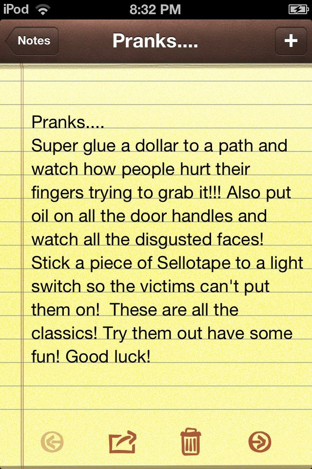 Pranks to play on people  Hope u enjoy them