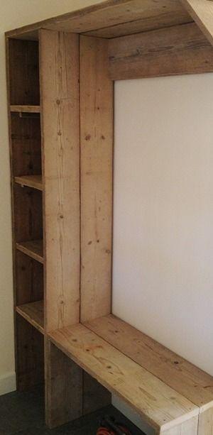 Mud Room / Kapstok Geertje // Steigerhout De Koe
