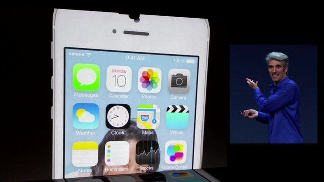 skeuomorphism officially dead? BBC News - Apple reveals iOS 7 design revamp and iTunes Radio