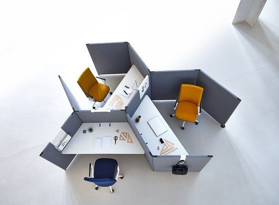 Link by Actiu is a modular system which creates and configures space of different heights that enables endless design possibilities to adapt work spaces to every need. #workspace #office #work #space #furniture #work #desk #workstation #custom #variety #team #meeting #commercial #design #interiors #softseating #detail #lounging #screens #spaces