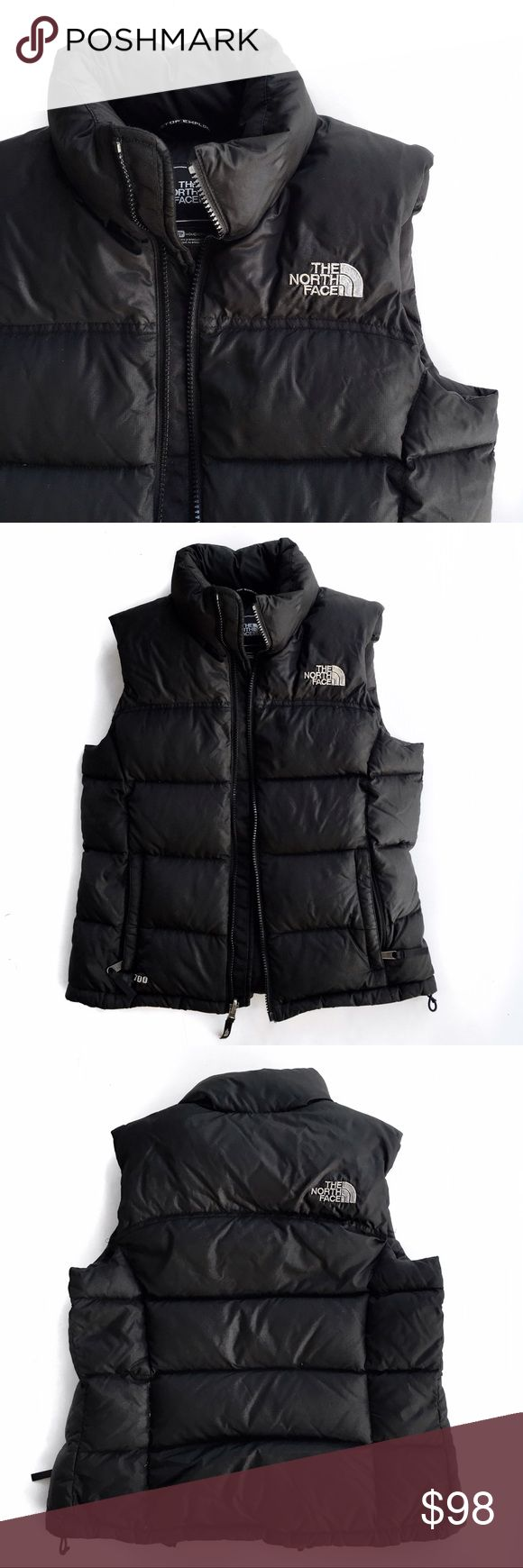 North face 700 puffer vest Super chic must have! Tag says xs but I am a small and this fits me just fine but may not zip if you have a larger chest area. No trades. Open to offers The North Face Jackets & Coats Vests